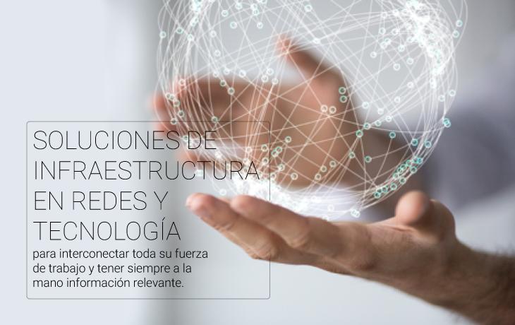 infraestructura de ti, tecnologia de la información, transformación digital