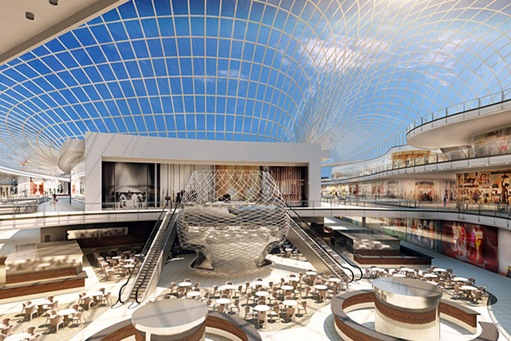 centros comerciales del futuro, tecnologia para centros comerciales, comercio, retail